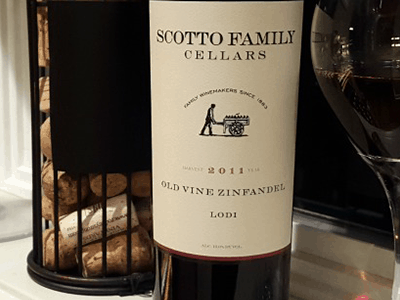 Scotto Family Cellars Old Vine Zinfandel 2011
