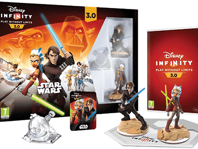Disney Infinity 3.0 Star Wars Twilight of the Republic PS4 Starter Pack with Mickey Character #Giveaway ends 11/23