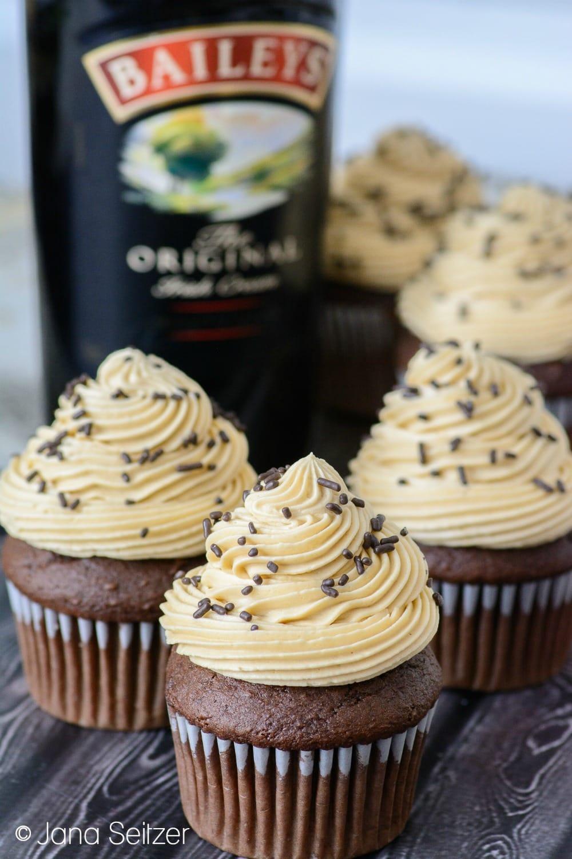 Baileys Irish Cream Cupcakes