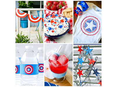 Captain America Civil War is Now Playing – Crafts and Treats