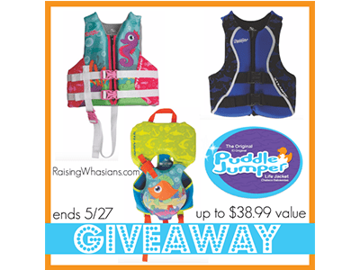 Puddle Jumper Life Vest Giveaway