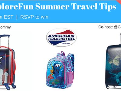 American Tourister #PackMoreFun Summer Travel Tips Twitter Chat June 30
