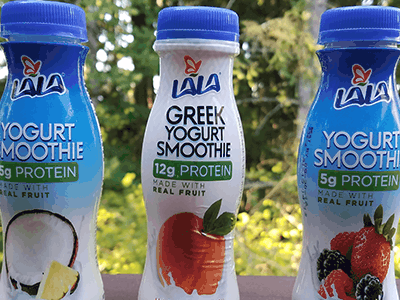 Stay on the Go with LALA Yogurt Smoothies
