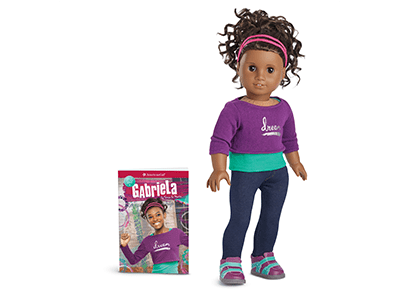 American Girl's Gabriela McBride Set to Help Break Down Barriers