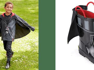 Star Wars Darth Vader Rain Boots and Rain Gear for Kids