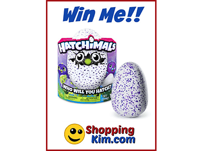 Win a Hatchimal ends 1/31