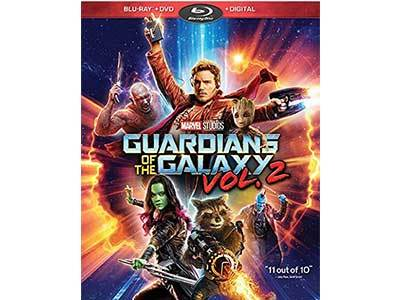 Guardians of the Galaxy Vol 2 Blu-Ray + Bonus