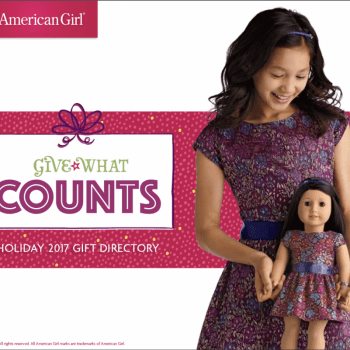 american girl gift what counts