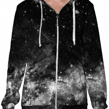 Electric Galaxy Panda Hood