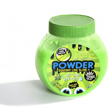 Compound Kings Powder Squishy Like Slime Compound – Green or Purple Slime