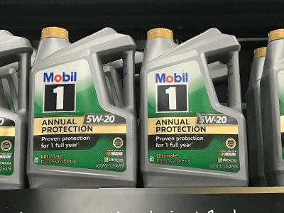 Car Care Essentials – Oil Change with Mobil 1 Annual Protection Motor Oil