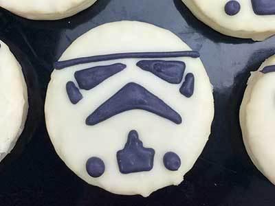 Star Wars Stormtrooper Treats