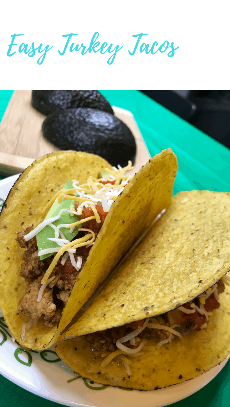 Easy Turkey Tacos