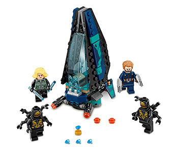 Outrider Dropship Attack Playset by LEGO - Marvel's Avengers: Infinity War
