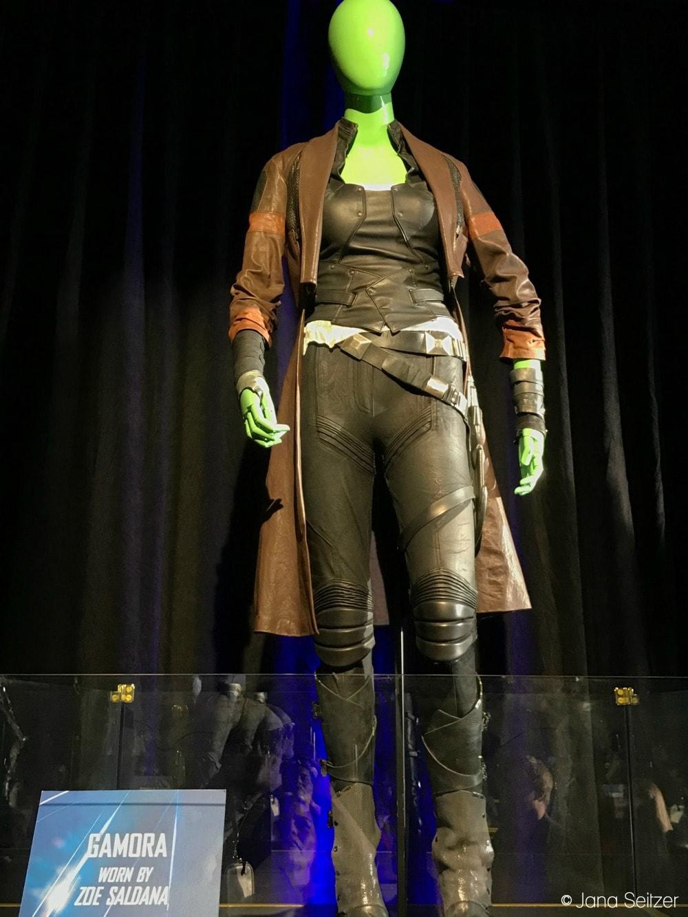 Avengers Infinity War Gamora Costume