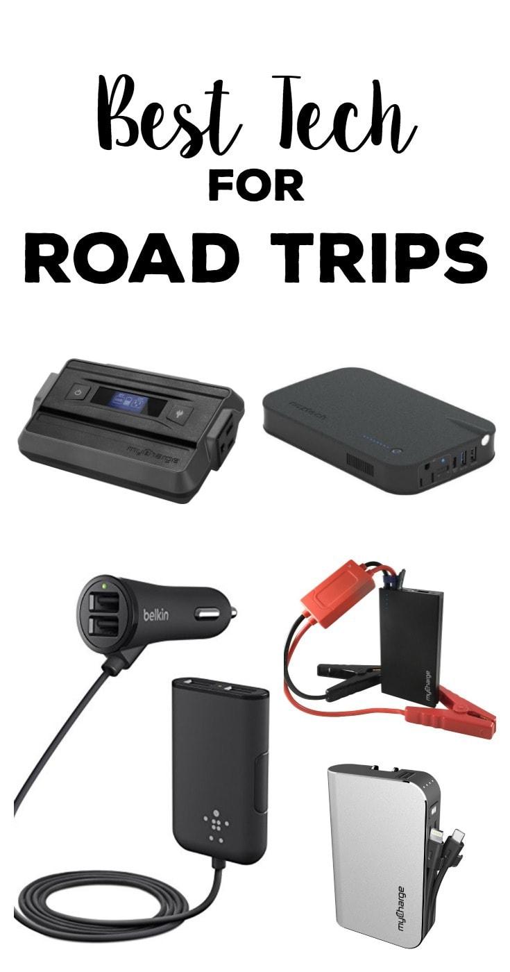 Best Tech for Road Trips