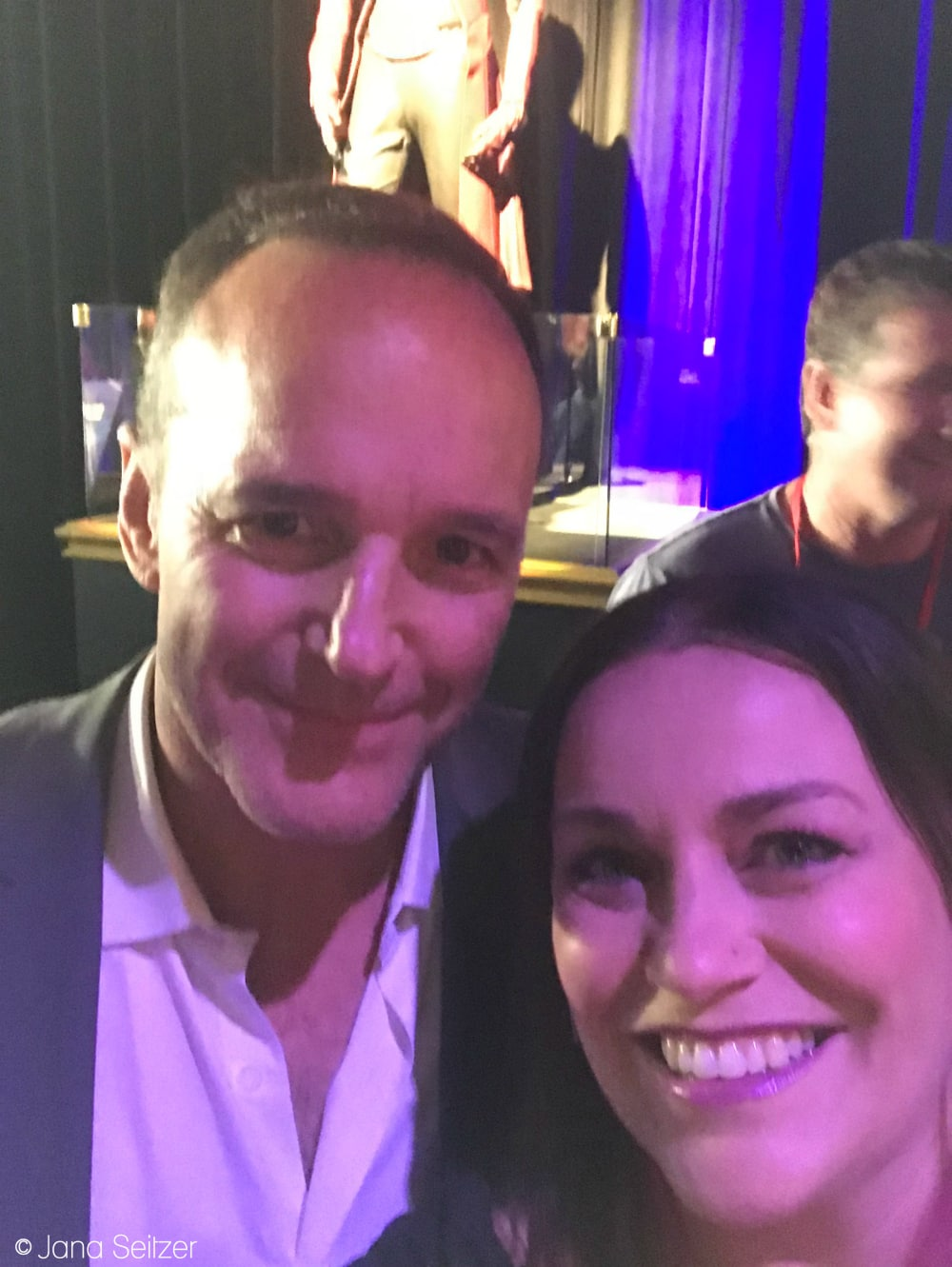 Clark Gregg and Jana Seitzer