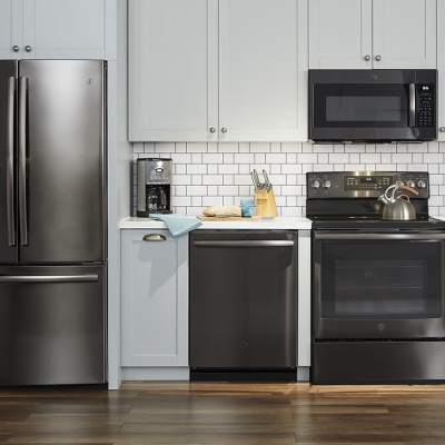 Upgrade Your Kitchen with GE Premium Finish Options