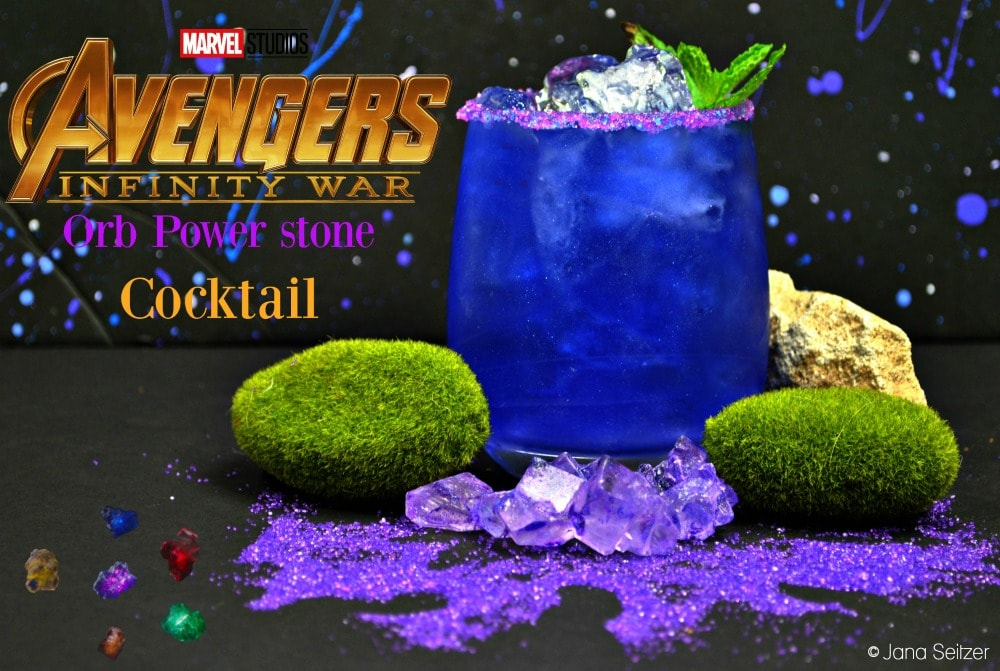Orb Stone Cocktail - Avengers Cocktail