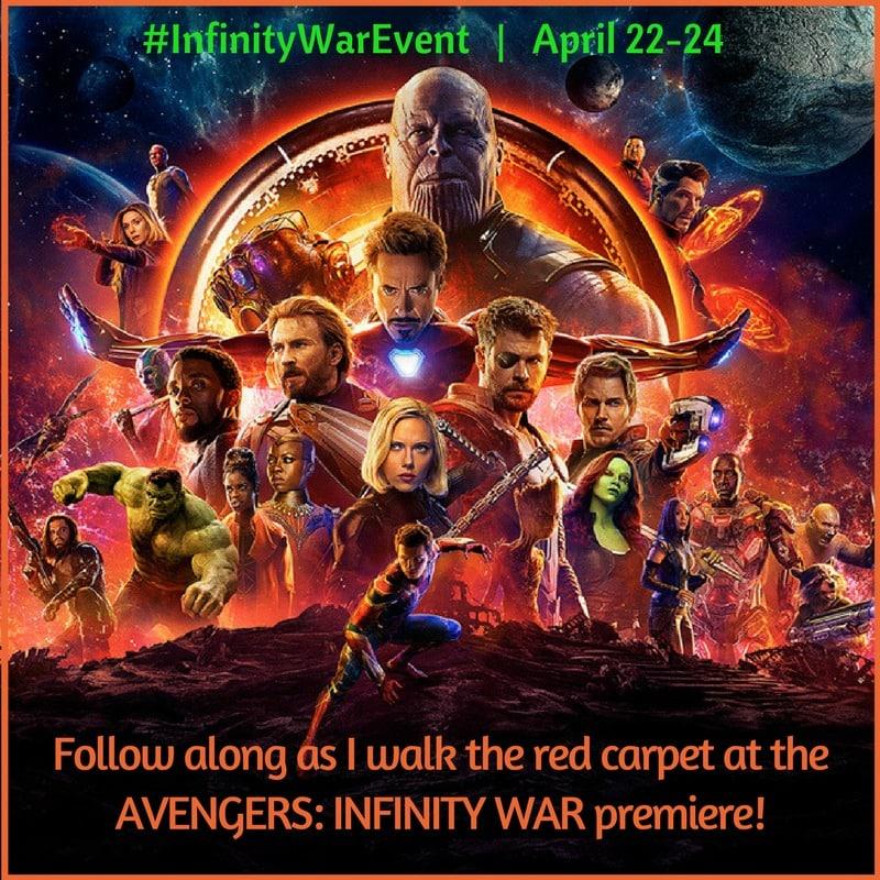 Avengers Infinity War Event Button