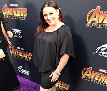 Walking the Purple Carpet at the World Premiere of Avengers Infinity War