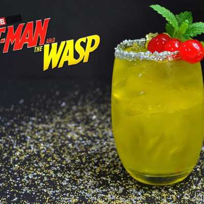 Wasp on the Rocks – Ant-Man and the Wasp Cocktail