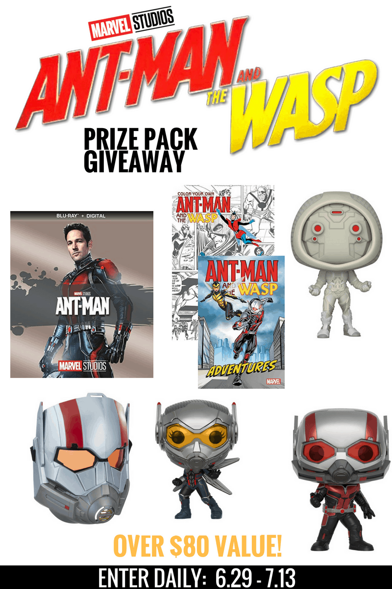 Ultimate Ant-Man and the Wasp Giveaway