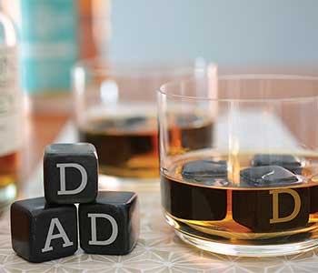 dad whisky stones
