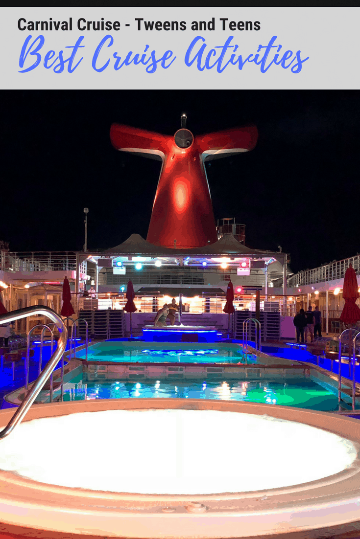 Best Cruise Activities for Tweens and Teens - Carnival Cruise