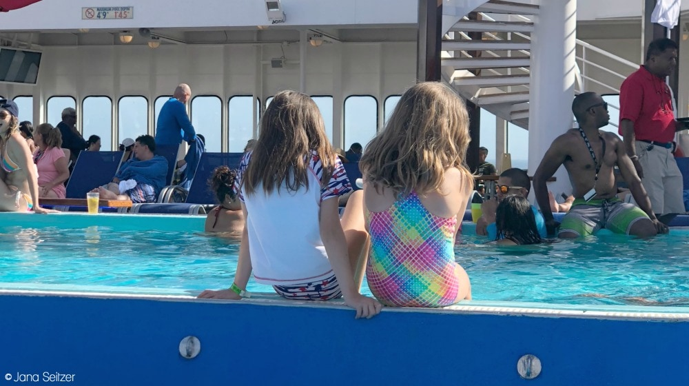 Best Cruise Activities for Tweens and Teens - Carnival Cruise - Pool