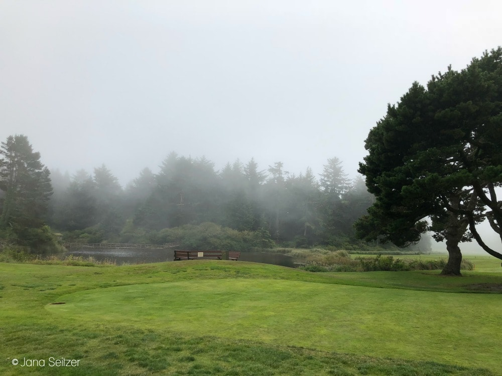Summer at Salishan Resort on the Oregon Coast - Salishan Resort Golf Course