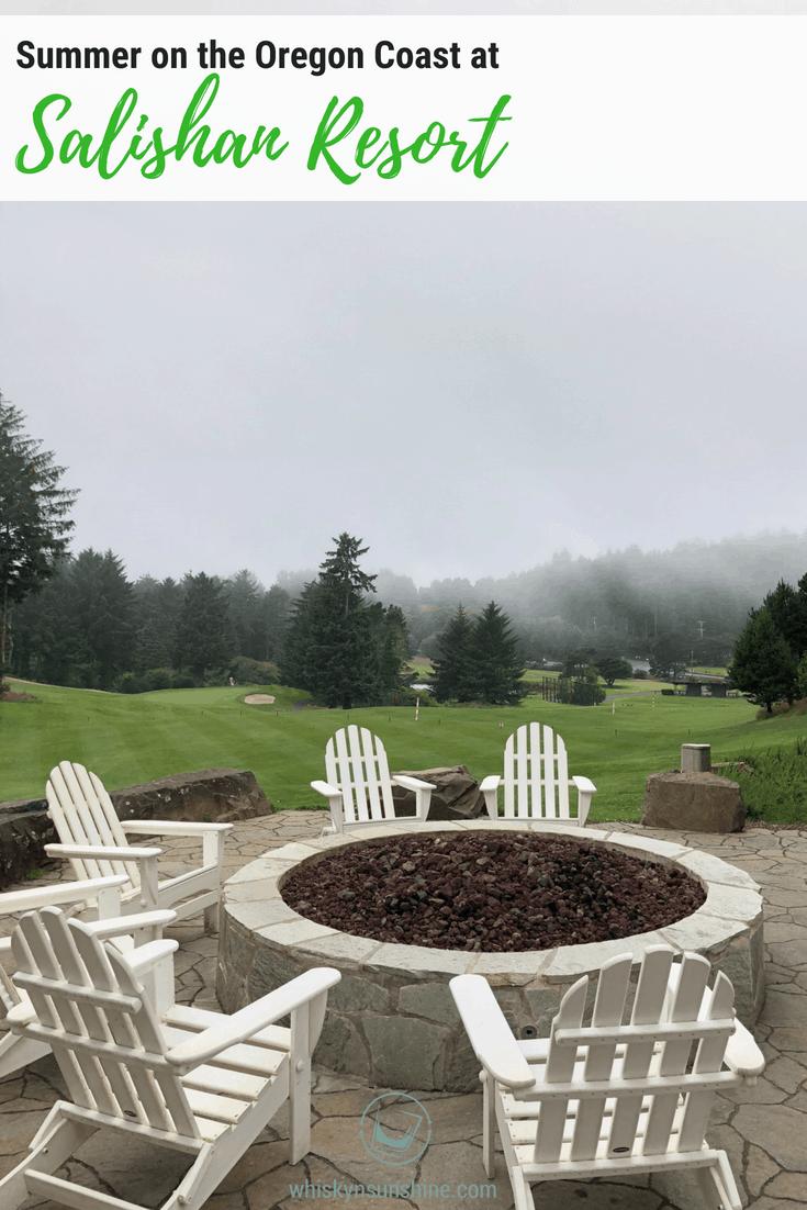 Summer at Salishan Resort on the Oregon Coast