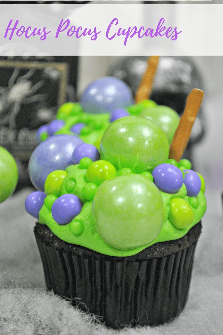 Hocus Pocus Cupcakes