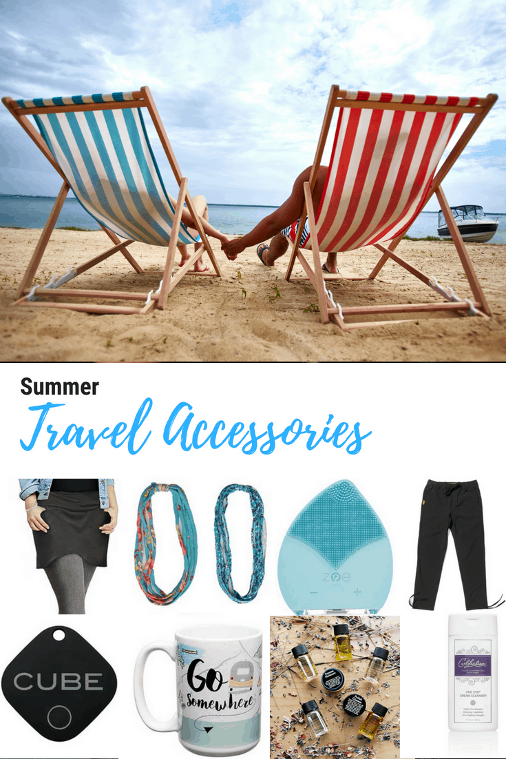 summer travel accessories