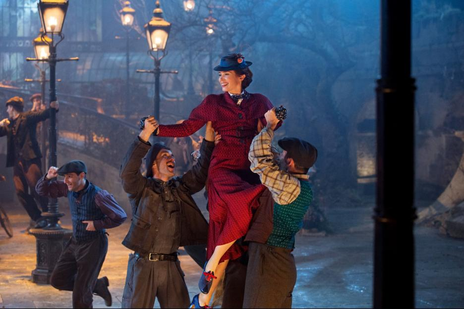Mary Poppins Returns red cress Emily Blunt's favorite costume
