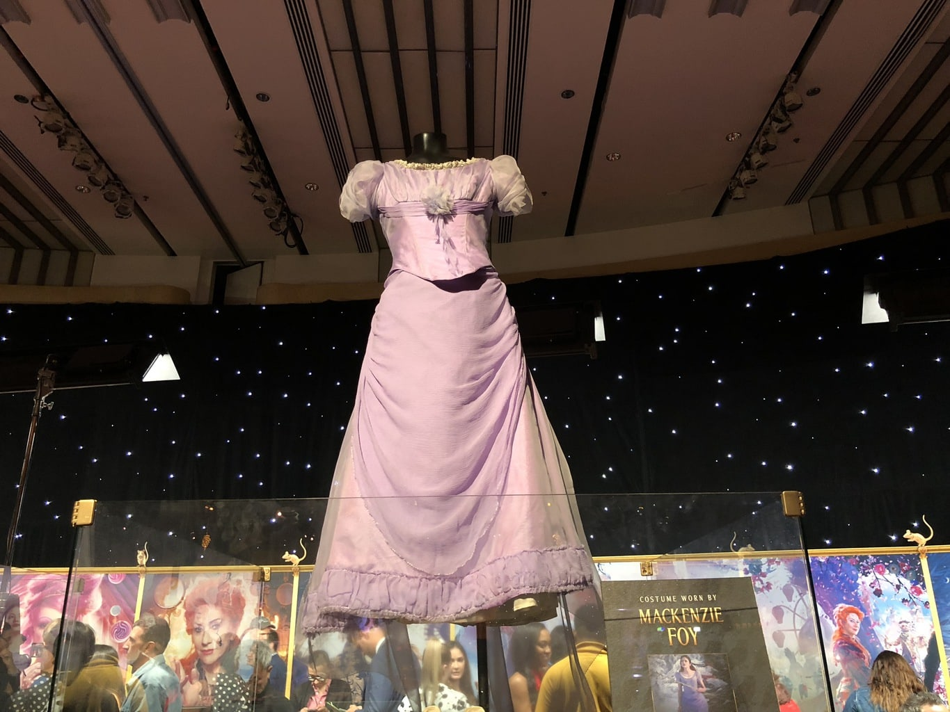 Walking the Red Carpet for Disney's Nutcracker and the Four Realms - costumes