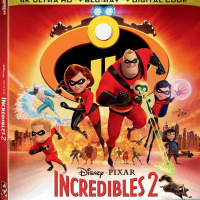 Incredibles 2 on Blu-Ray Nov. 6