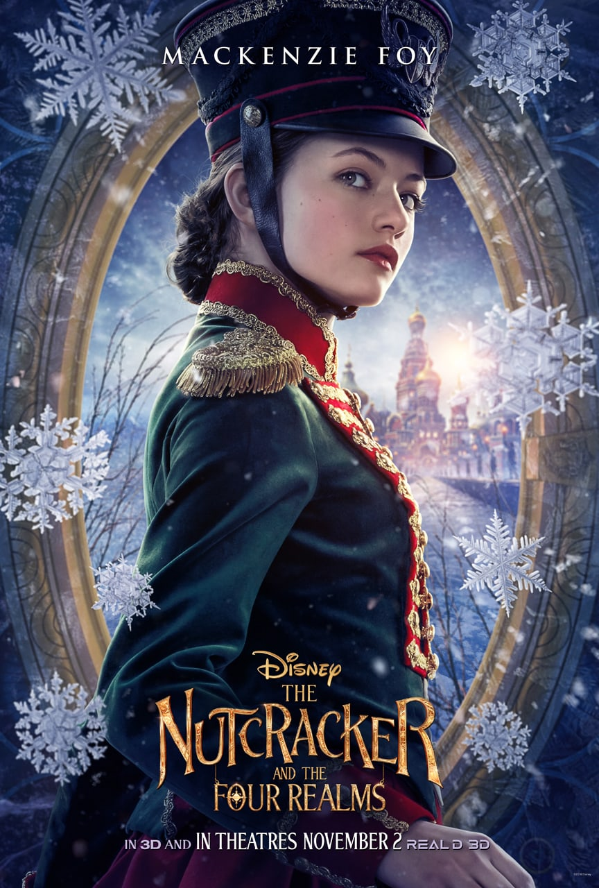 Disney's The Nutcracker and the Four Realms - Clara poster