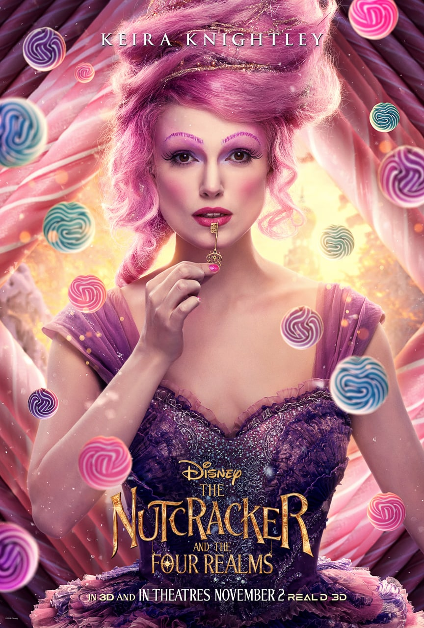 Disney's The Nutcracker and the Four Realms - Sugar Plum Fairy poster