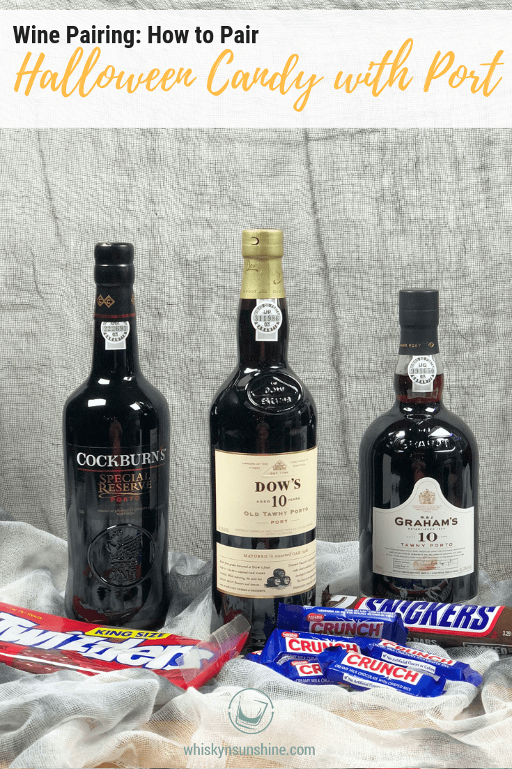 Wine Pairing - How to Pair Halloween Candy with Port