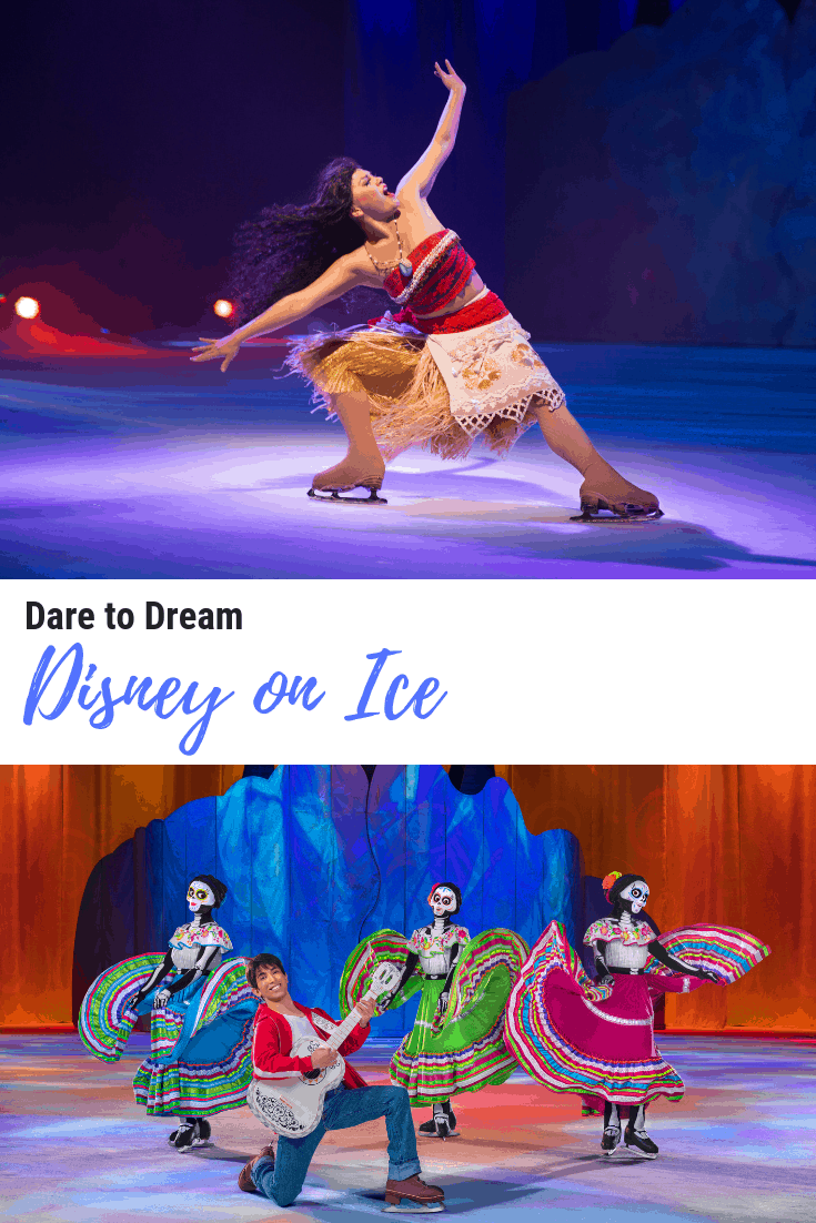 disney on ice dare to dream portland