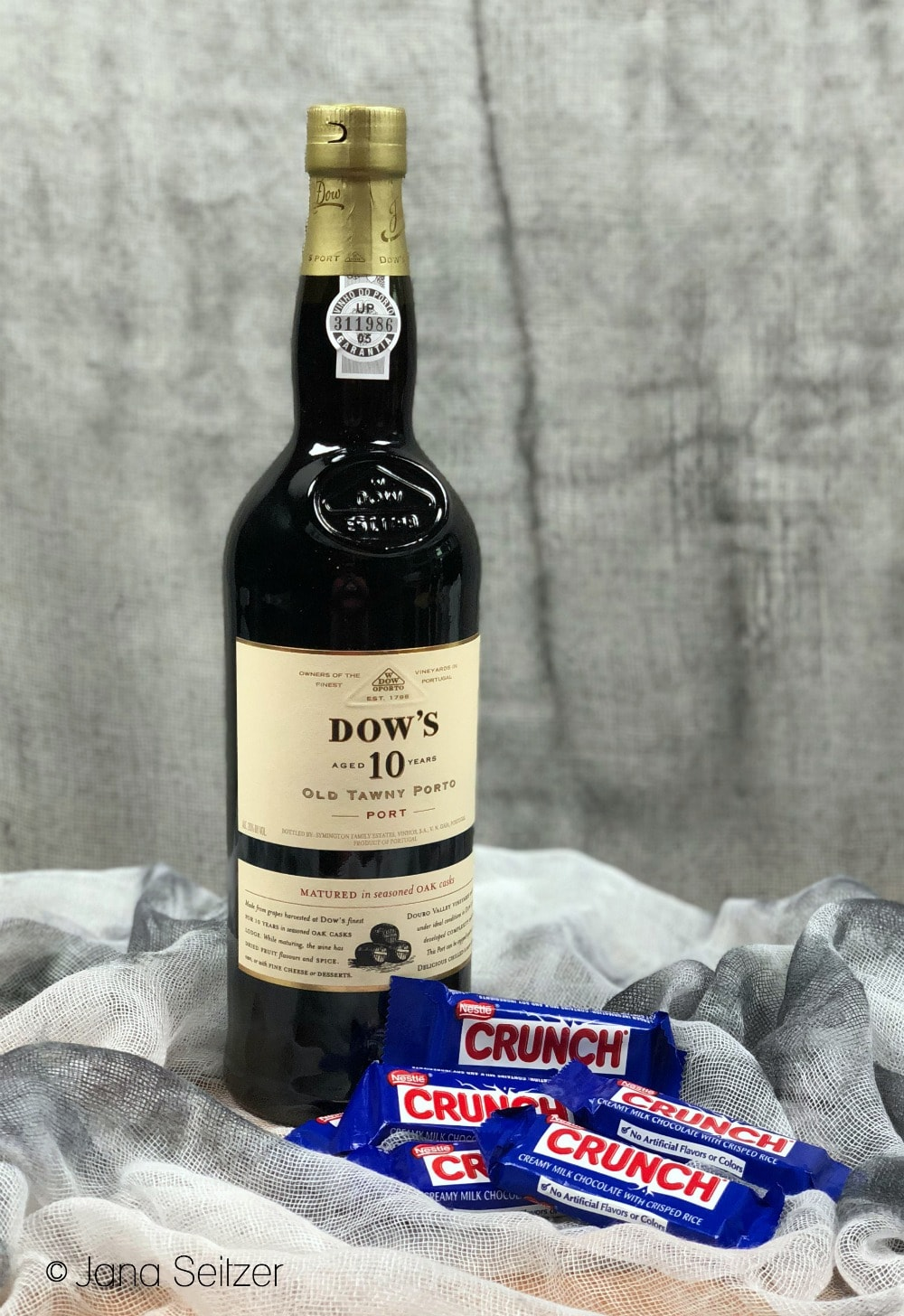 dows 10 year old tawny port nestle crunch - How to Pair Halloween Candy with Port