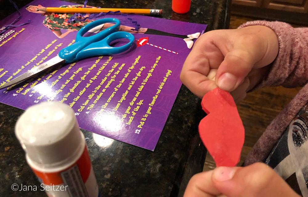 DIY Dracustraws in process