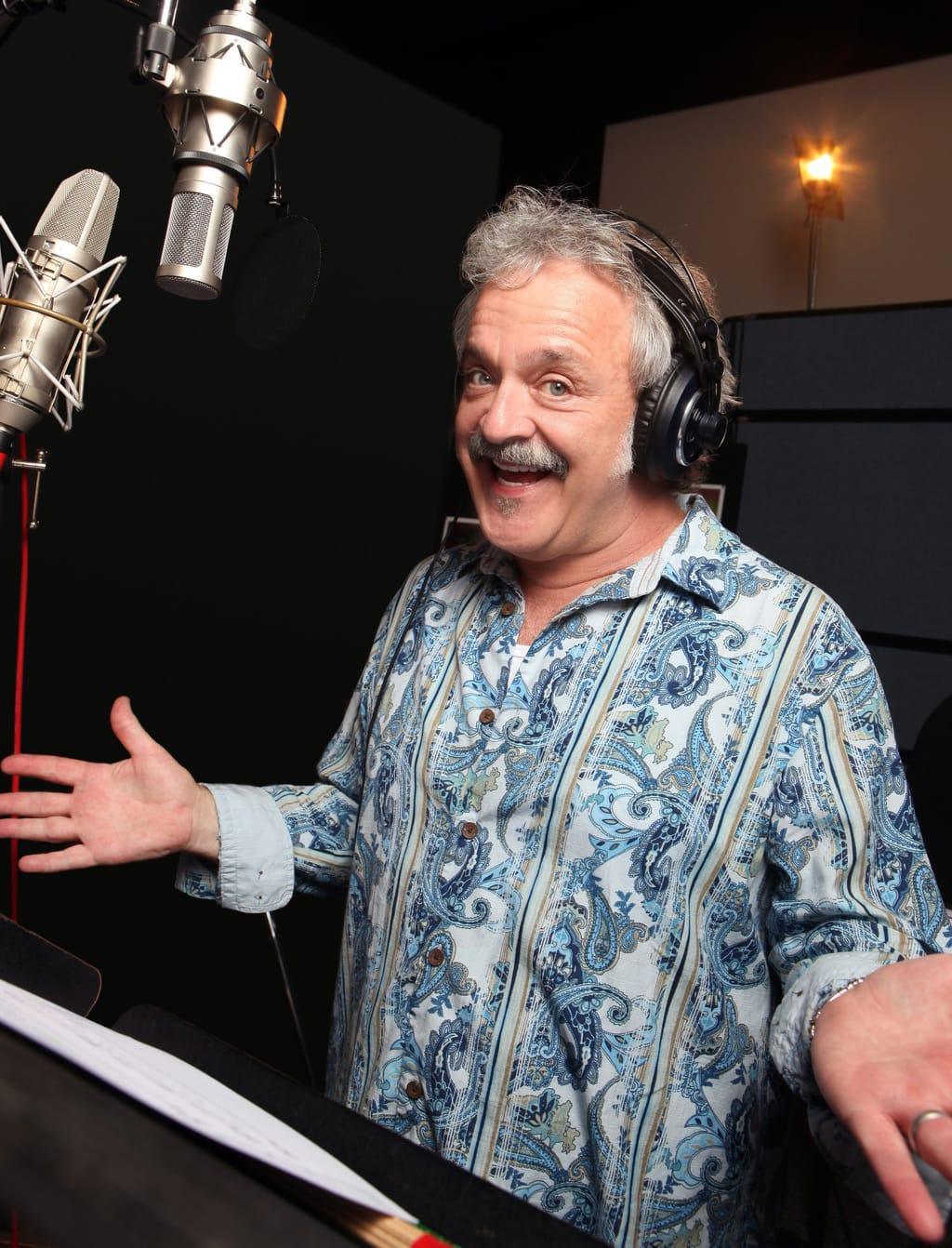 Jim Cummings Interview - The Voice Behind Winnie the Pooh - jim cummings on set