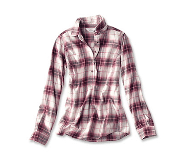 Orvis Women's Misty Morning Flannel Popover
