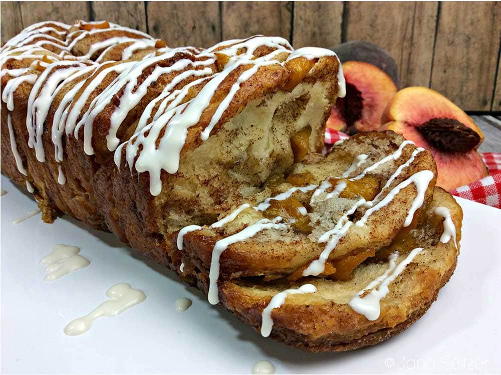 Peach Pull-Apart Bread