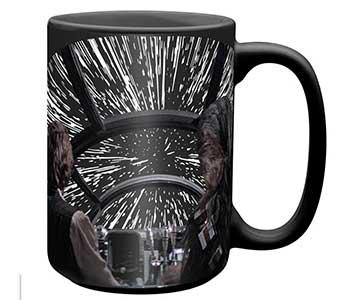 Zak Star Wars lightspeed millennium falcon mug
