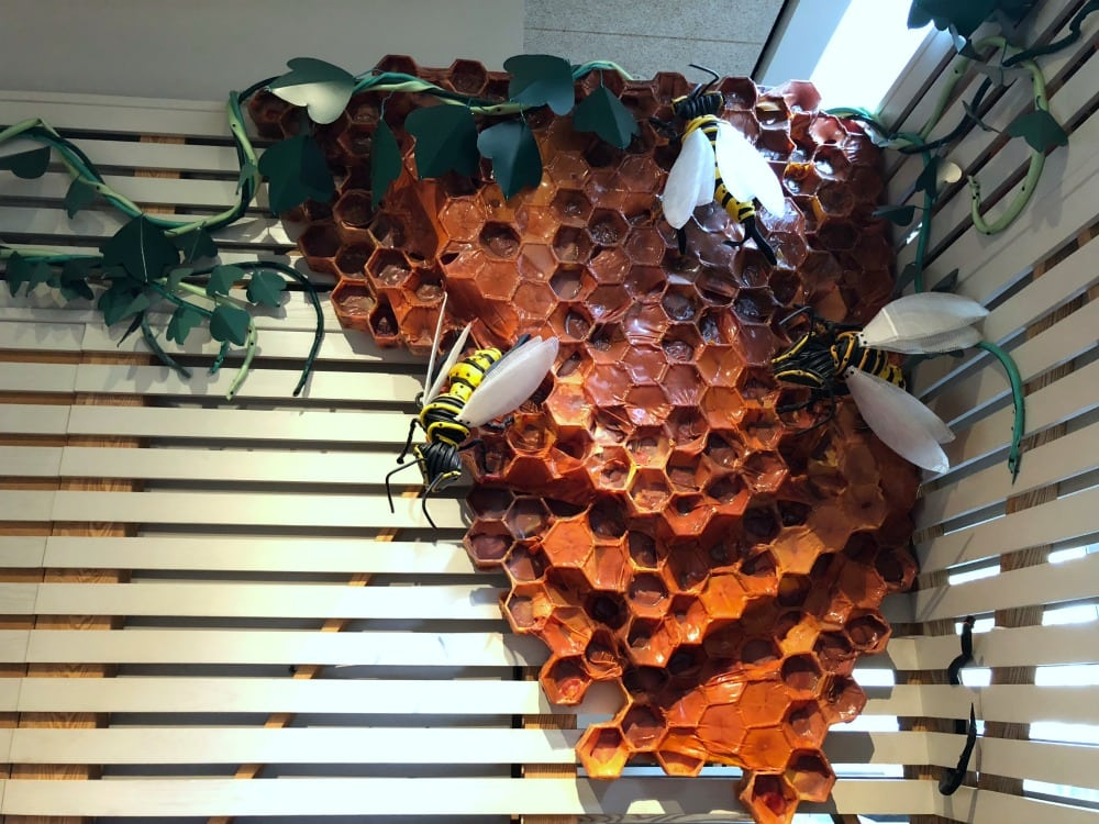 "Art in Bentonville, Arkansas - 21c Museum Hotel ""the Hive"" ""Buzzkill"""