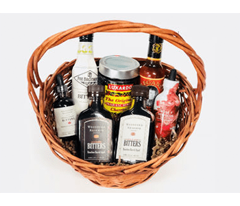 Cocktail Lovers Dream Gift Basket / Supermarket Italy