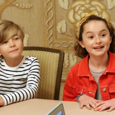 Interview with Pixie Davies and Joel Dawson – Mary Poppins Returns